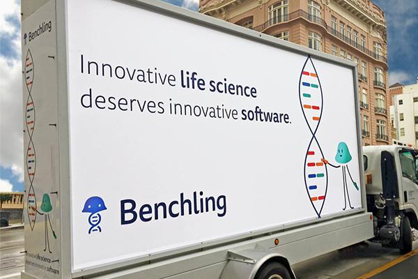 Benchling Billboard Ad